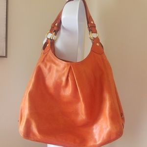 Coach maggie extra large hobo leather 3 pocket
